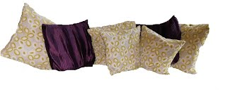 Image of cushions created by Jaya Interiors