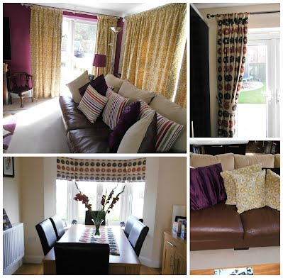images of curtains and accessories made by Jaya Interiors